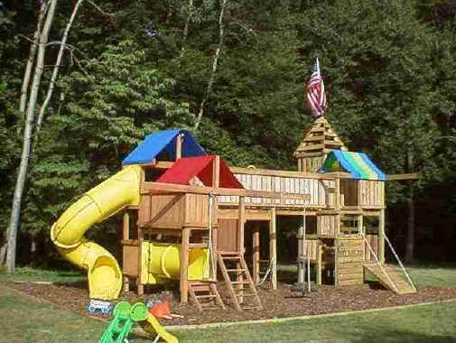 The Backyard Jungle Gym - Backyard jungle gyms